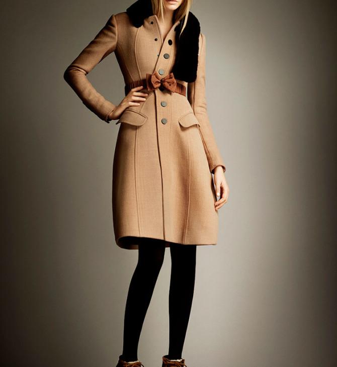 Весенние советы: в мире пальто царят бежевый и коричневый цвета