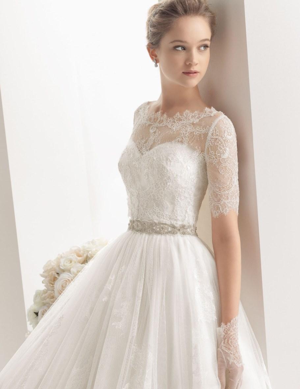 Фотки кружевных свадебных платьев