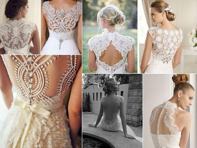 Кружевные бальные платья